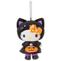 Hello Kitty Mascot Charm Boa Plush Doll Key Chain Halloween 2014 SANRIO JAPAN