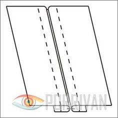 Расстрочной шов - это шов у которого припуски разложены на разные стороны и закреплены машинными отделочными строчками. Бывает двух типов, первый из которы