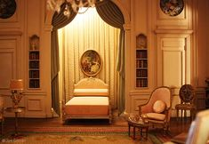 Phoenix Art Museum owns 20 Thorne Miniature Rooms and the rest are in the Art Institute of Chicago (68), the Knoxville Museum of Art (9).  French Louis XVI Bedroom 1774-1793  is in the Phoenix Art Museum, Phoenix, Arizona