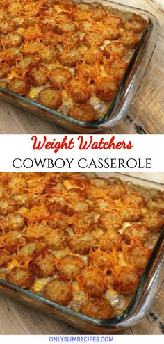 Cowboy Casserole // You are in the right place about fast Food Recipes Here we offer you the most beautiful pictures about the soul Food Recipes you are looking for. When you examine the Cowboy Casserole // part of the picture you can get the massage we … Weight Watchers Casserole, Weight Watchers Diet, Weight Watcher Dinners, Weight Watcher Recipes, Weight Watchers Recipes With Smartpoints, Weightwatchers Smartpoints, Ww Recipes, Skinny Recipes, Cooking Recipes
