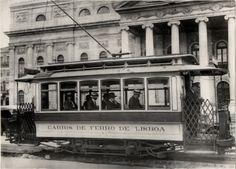 Praça do Comércio Carro elétrico