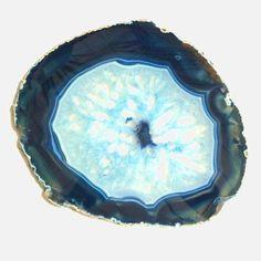 Agate - Double Polished Extra Large - Blue
