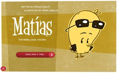 Matias the Rebellious Chicken - part of the Brainy Fables Series of kids apps