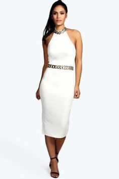 Boutique Monroe Embellished Neckline Midi Bodycon Dress. Get unbelievable discounts up to 60% Off at Boohoo using Coupon & Promo Codes.