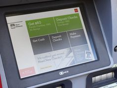 ATM Interface for Wells Fargo