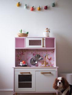 Ikea Kids Kitchen, Ikea Duktig, Creative Kids Rooms, Kid Spaces, Ikea Hacks, Cubbies, Instagram, Babys, Diy
