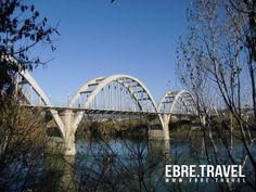 #MoradEbre. Pont sobre el riu #Ebre. Properament a http://www.ebre.travel/  #MoradEbre. Bridge over river #Ebre. At http://www.ebre.travel/ soon.  #MoradEbre. Puente sobre el rio #Ebre. Próximamente en http://www.ebre.travel/