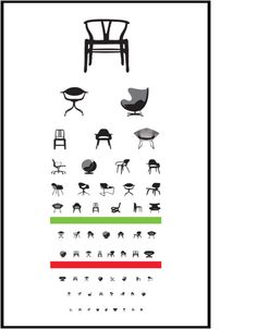 Funny!  Eye Exam Poster by Blue Ant Studio