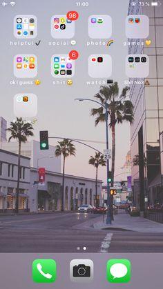 Photo Games, Phone Organization, Homescreen, Screens, Phones, Organize, Ios, Phone Cases, Apps