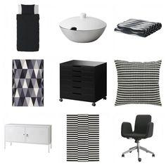 Via Mamamekko | Ikea Stockholm and PS |  Black and White