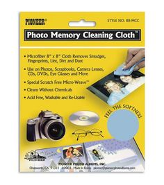 Pioneer 8''x8'' Photo Memory Cleaning Cloth