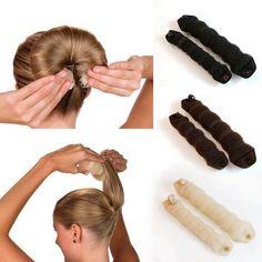 Cheap hair accessories, Buy Quality foam sponge directly from China tools hair Suppliers: LNRRABC  2 Piece Solid Women's Magic Foam Sponge Hair Stylin Hairdisk Headwear Female Hair Tool Hair Accessories Christmas Gift