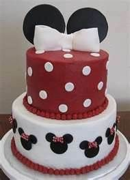 mickey mouse cakes - 4th layer of Katharine's 18th BDay cake...her life through Disney