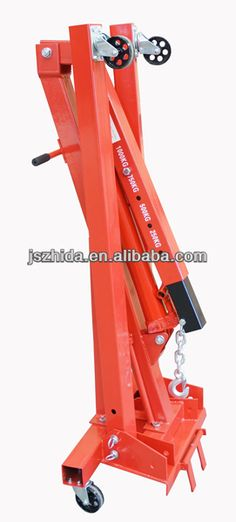2200 Lbs Engine Cherry Picker Hoist Shop Crane 1ton - Buy 1 Ton Manual Folding…