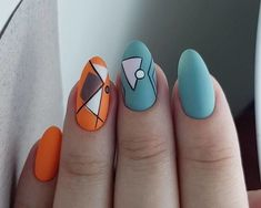 Semi-permanent varnish, false nails, patches: which manicure to choose? - My Nails Cute Summer Nail Designs, Creative Nail Designs, Creative Nails, Nail Art Designs, Nails Design, Summer Toe Nails, Cute Summer Nails, Fun Nails, Pedicure Nails