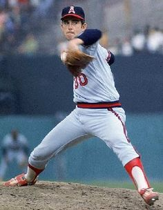 Nolan Ryan, 7 no hitter shutouts! Awesome pitcher!