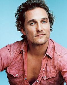 Matthew McConaughey, Texas is southern...right? :)
