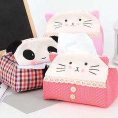 Cute Animal Tissue Box Cover