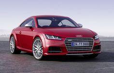 Audi TT, la première voiture connectée présentée au Mondial de l'Automobile
