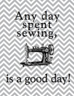 Fooling around on the computer last night trying to find some cute prints for my new sewing room and I came up with this. I uploaded it to ...