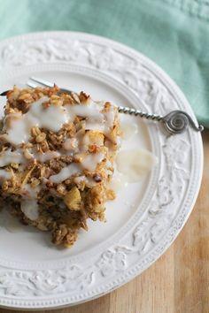 16 Ideas Breakfast Bake Gluten Free Brown Sugar For 2019 Gluten Free Baking, Gluten Free Recipes, Healthy Recipes, Brunch Recipes, Breakfast Recipes, Gluten Free Muesli, Sugar Free Breakfast, Breakfast Bites, Fall Breakfast