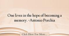 Antonio Porchia Quotes About Hope - 35886