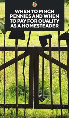 When to Pinch Pennies and When to Pay for Quality as a Homesteader