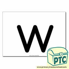 Letter 'w' Themed Flashcards, Word Mats, Posters & Challenges - Primary Treasure Chest