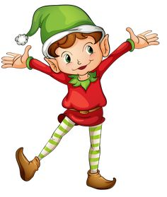 illustration of a christmas elf royalty free cliparts vectors and rh pinterest com free clipart christmas elf