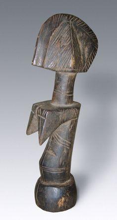 Abstrakte Ritualfigur biga   Mossi / Burkina Faso