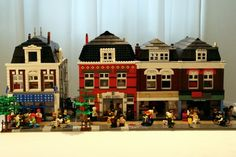 Alphen aan den Rijn - Hooftstraat: A LEGO® creation by Patrick Bosman : MOCpages.com