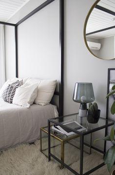 hajottamo: modernimpi makuuhuone