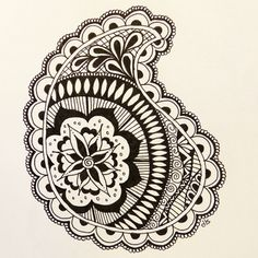 Stepping Outside the Block--do you zentangle?