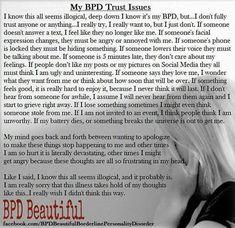 Bpd Disorder, Bipolar Disorder Quotes, Stress Disorders, Mental Disorders, Anxiety Disorder, Boarderline Personality Disorder, Borderline Personality Disorder Quotes, Mental Health Memes, Mental Health Awareness