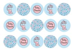 Edible cake toppers with cute Baby Elephant designs that are perfect for a baby shower or new baby celebration, Available on standard rice paper, premium rice paper or icing. All products are 100% edible and easy to use. Suitable for use as cocktail toppers and ice cream decs. Next day delivery available - buy now!