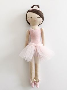 This doll is a Mend by Ruby Grace Original, handcrafted with the highest quality materials. This doll is meant to last a lifetime. Please note there are finished and raw edges used in this desi...