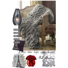 A home decor collage from November 2014 Fashion 2014, Autumn Fashion, Grey Room, Bob Marley, Merino Wool Blanket, November, Collage, Bed, Stuff To Buy