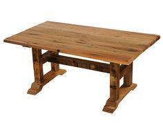 Barnwood Rectangular Timbers Dining Table