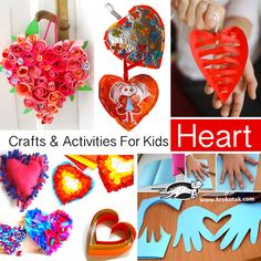 HEART - Crafts & Activities For Kids