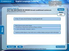 Interchange 4th Edition Arcade: Cambridge University Press - Level 2/Unit 15 - Put The Sentences In Order