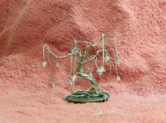 Miniature wire trees