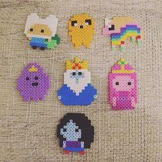 Adventure Time perler beads by _.zimtschnute._