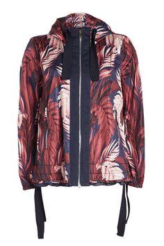 Moncler Printed Jacket with Hood Moncler, Hooded Jacket, Bomber Jacket, Pop Fashion, Fashion Trends, Celebrity Names, Print Jacket, Summer Collection, Jackets