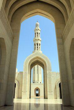Sultan Qaboos Grand Mosque by mr_smee44, via Flickr