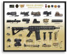 sopmod 416 | Carbine Limited Edition Prints