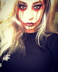 #halloween #scary #rachy #blood #paint