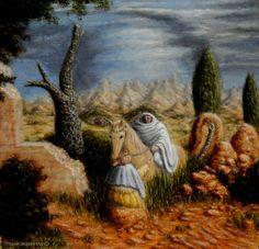 ♥ Apparition in a Landscape - Jósean Figueroa