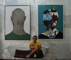 The 2 pieces with Mr.Zen at Wua Art Gallery