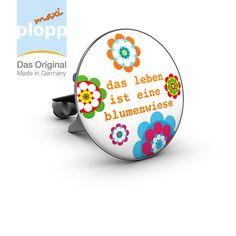 """maxi plopp """"das leben ist eine blumenwiese"""".  #Bad #Wellness #Badezimmer #Bathroom #Interior #Wohnen #plopp #flower power"""