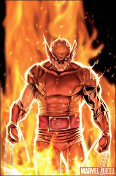 wolverine comic art | Wolverine,Comic Book art,Fire,Illustration,Digital | A Creative ...